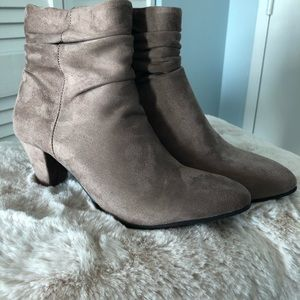 Chinese Laundry Faux Suede Booties